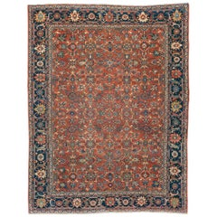 Early 20th Century Persian Mahal Rug