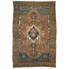 Early 20th Century Persian Serapi Rug