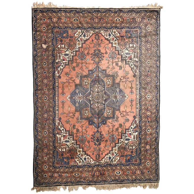 Early 20th Century Persian Style European Rug For Sale At
