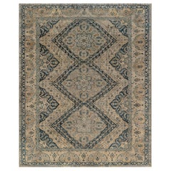 Early 20th Century Persian Tabriz Handmade Carpet