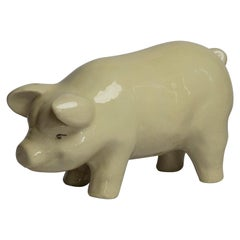 Early 20th Century Porcelain Pig