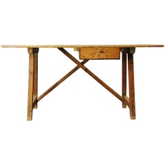 Early 20th Century Primitive Spanish Desk