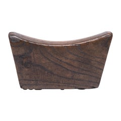 Early 20th Century Provincial Chinese Headrest