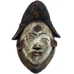 Early 20th Century Punu Mask from Gabon