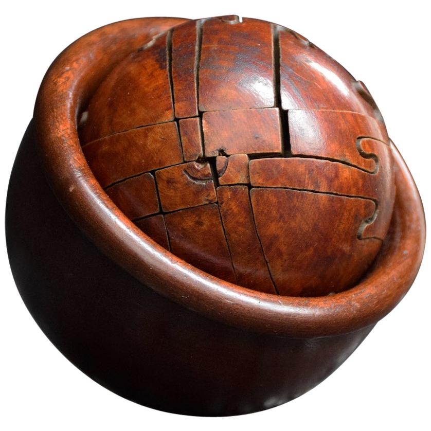 Early 20th Century Puzzle Ball