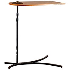 Early 20th Century Revolving Overbed Table