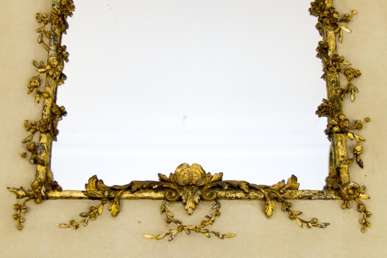 Painted Early 20th Century Rococo Style Mirror or Picture Frame For Sale