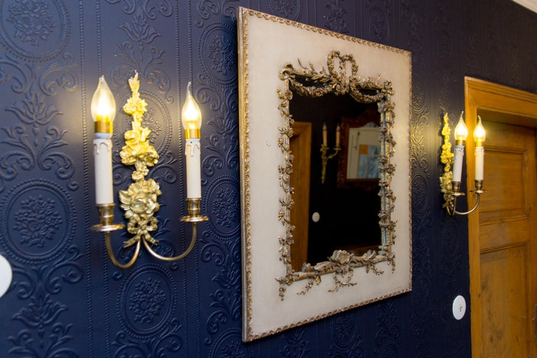 Early 20th Century Rococo Style Mirror or Picture Frame For Sale 1