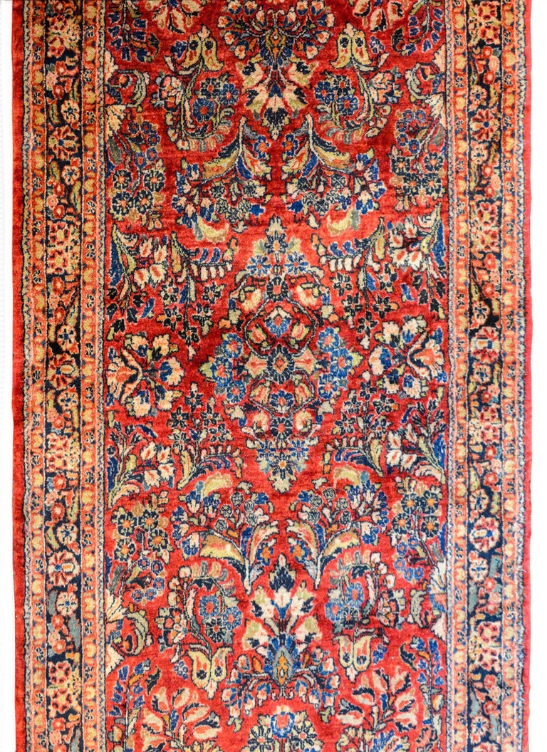 Sarouk Farahan Early 20th Century Sarouk Rug For Sale