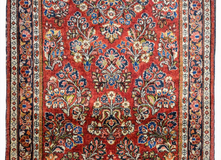 Persian Early 20th Century Sarouk Rug For Sale
