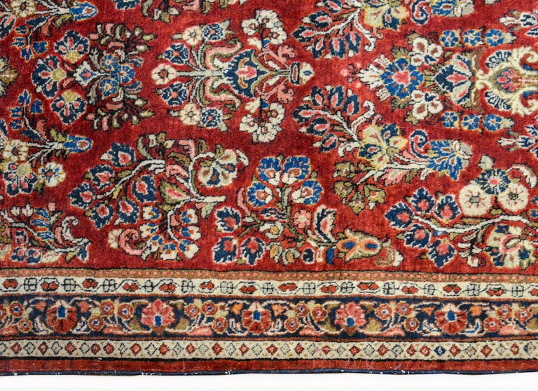 Mid-20th Century Early 20th Century Sarouk Rug For Sale