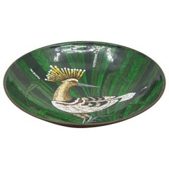 Early 20th Century Serge Nekrassoff Enamel Bowl
