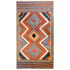 Early 20th Century Shiraz Kilim Rug