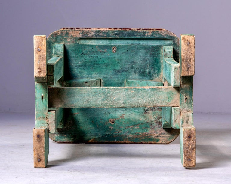 Early 20th Century Side Table with Original Paint For Sale 2