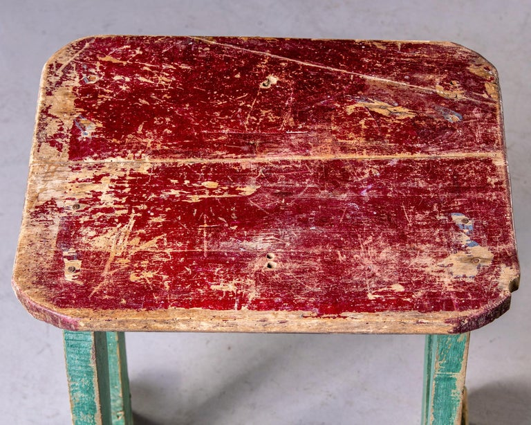 Early 20th Century Side Table with Original Paint For Sale 3