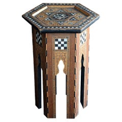 Early 20th Century Small Liberty & Co Syrian Table
