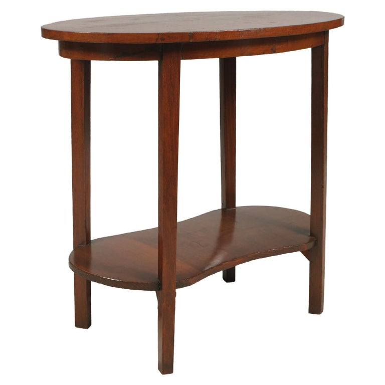 Smalle Sidetable 20 Cm.Early 20th Century Small Occasional Rustic Country Table Art Nouveau Restored