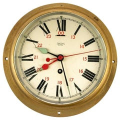 Early 20th Century Smiths Astral 'Great Britain' Shipboard Clock, circa 1930s