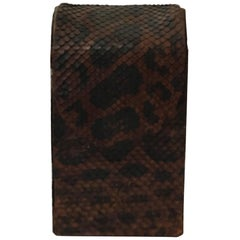 Early 20th Century Snakeskin Box from the Frontier Region of Argentina_Ready