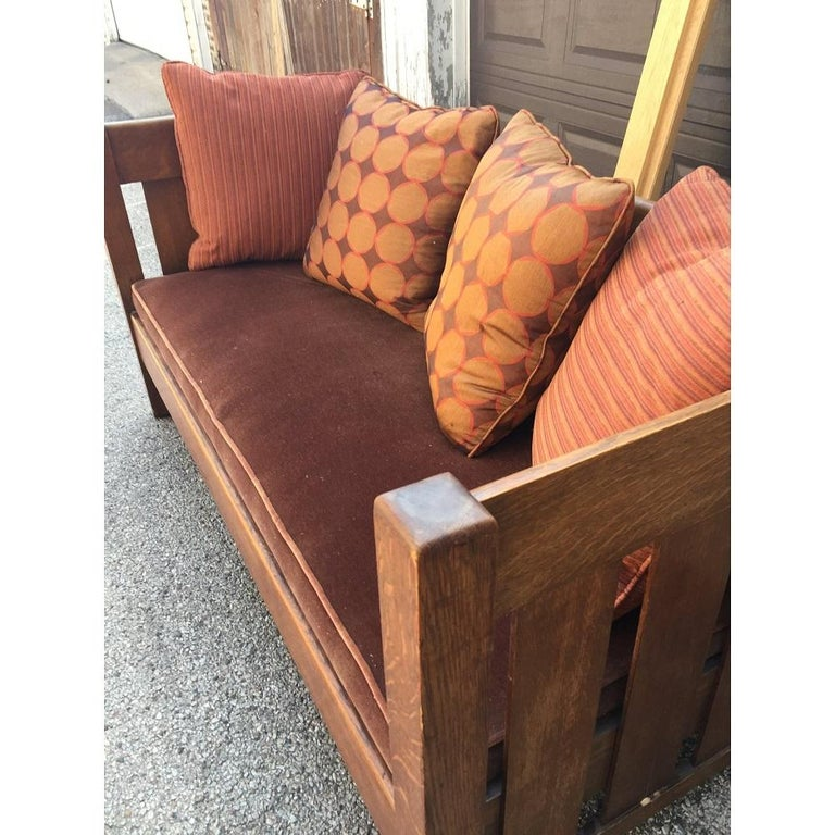 Early 20th Century Sofa Phoenix Furniture Company For Sale