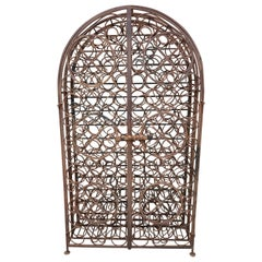Early 20th Century Sommelier's Wine or Champagne Rack