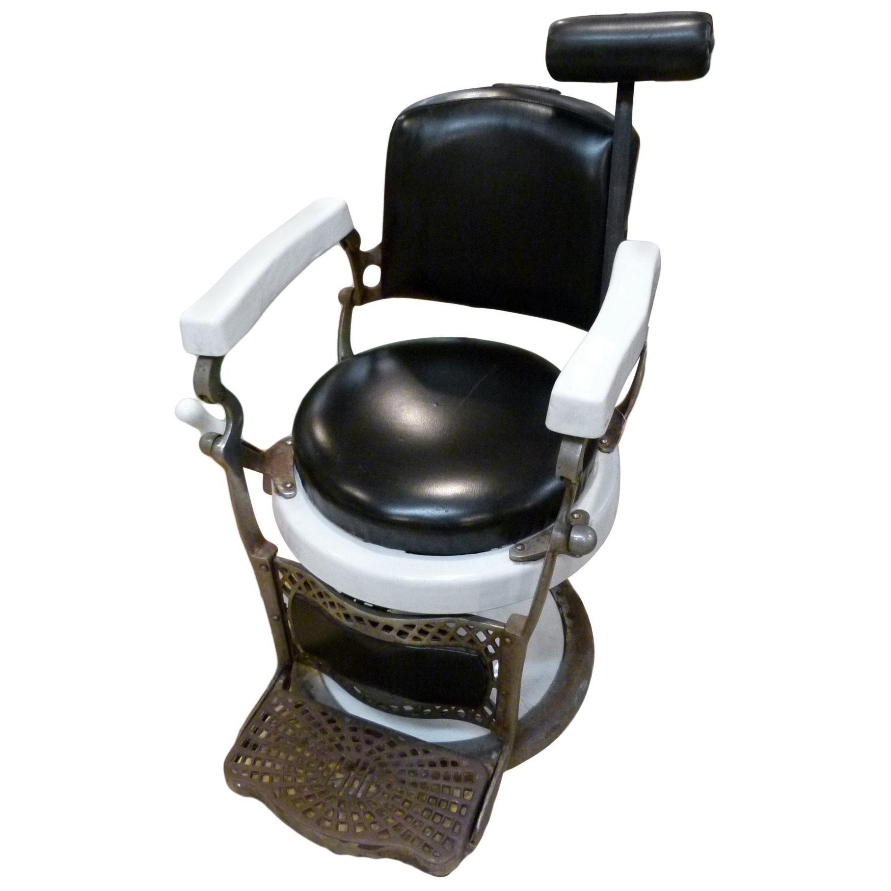 Early 20th Century Spanish Barber Armchair