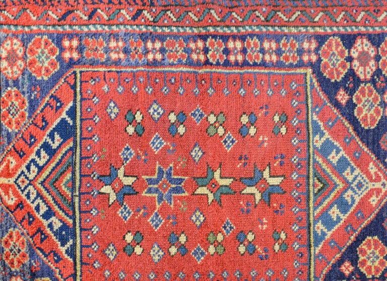 Vegetable Dyed Early 20th Century Sparta Rug For Sale