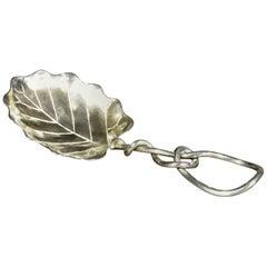 Early 20th Century Sterling Silver Tea Caddy Spoon, American, circa 1900