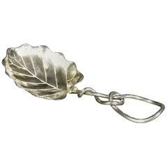 Early 20th Century Sterling Tea Caddy Spoon, American Circa 1900