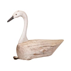 Early 20th Century Swan Decoy