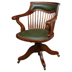 Early 20th Century Swivel Office Chair