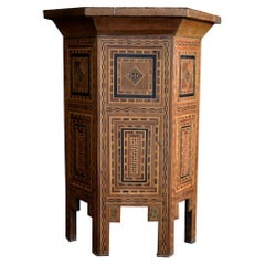 Early 20th Century Syrian Side Table