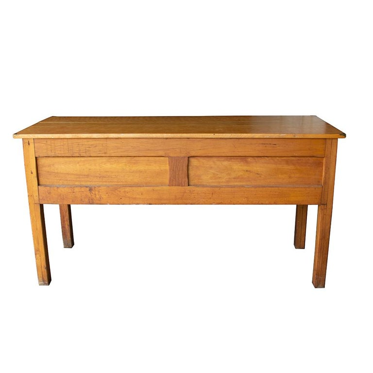 Early 20th Century Tandem Lab Desk For Sale 1