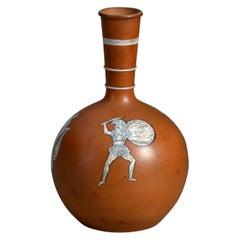 Early 20th Century Terracotta Attic Vase
