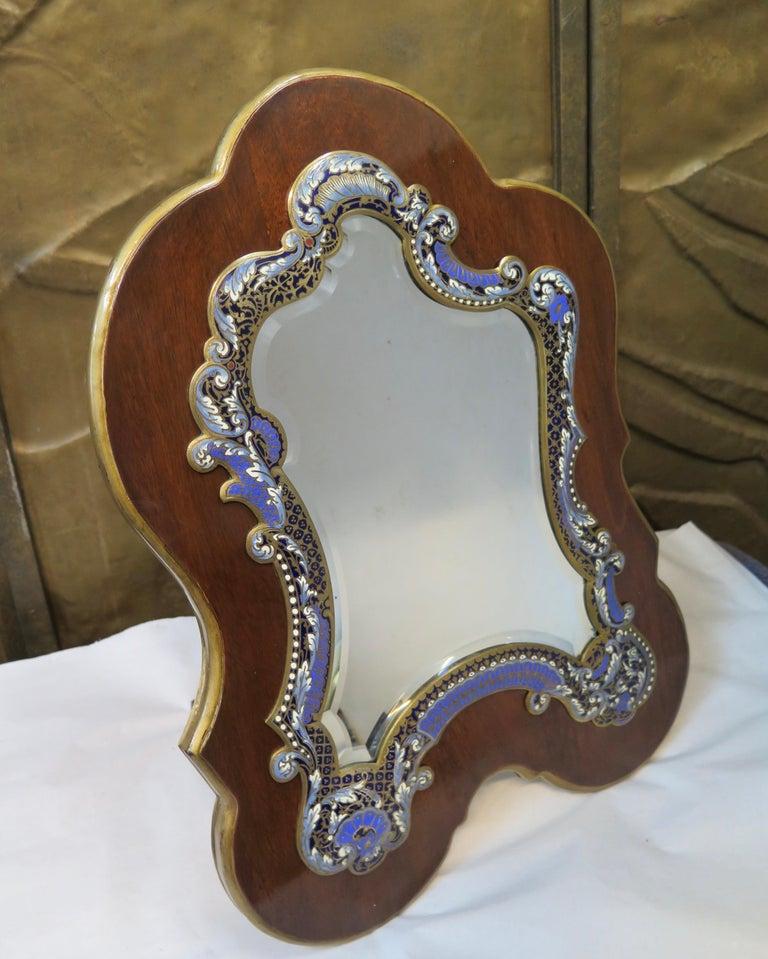 Champlevé Early 20th Century Tiffany & Co. Vanity Mirror