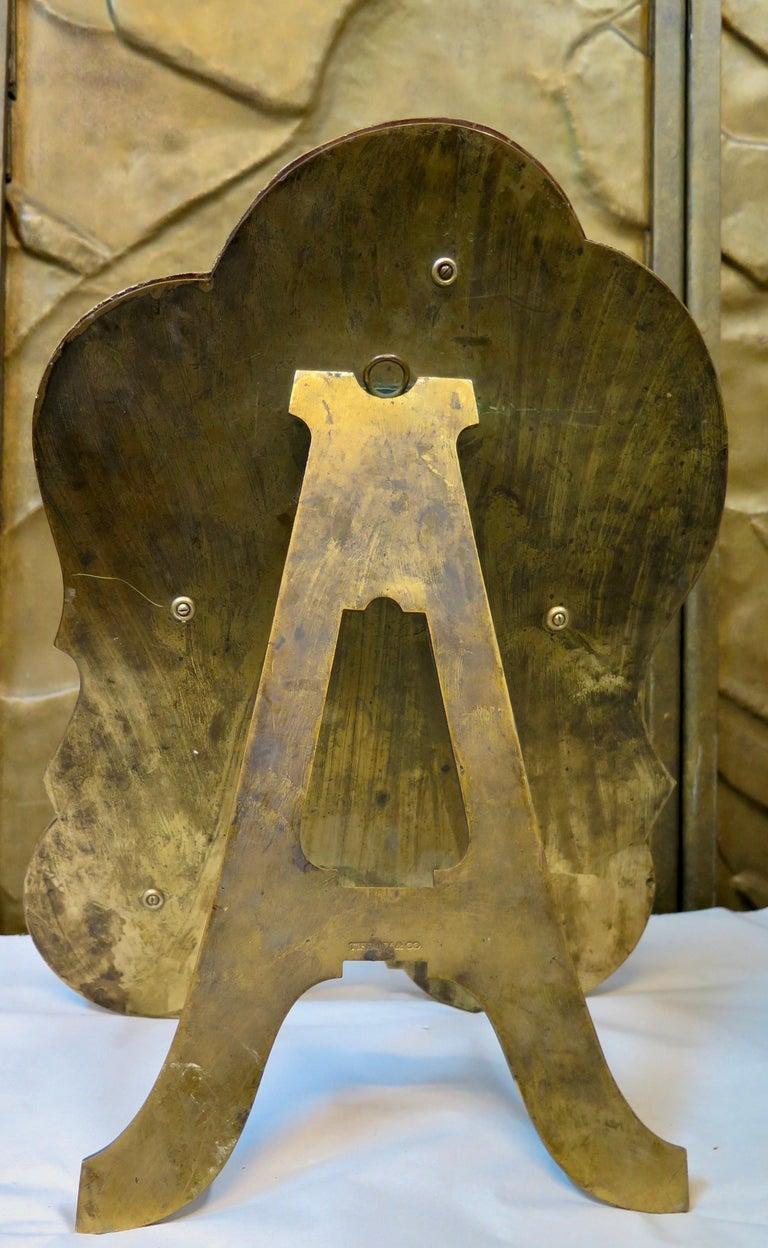 Bronze Early 20th Century Tiffany & Co. Vanity Mirror