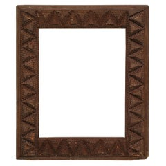 Early 20th Century Tramp Art Frame