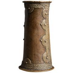 Early 20th Century Tribal Bronze Cuff  -  Nigeria