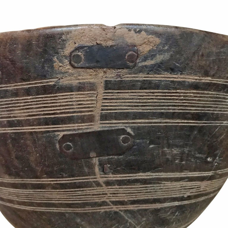 Tribal Early 20th Century Tuareg Bowl For Sale