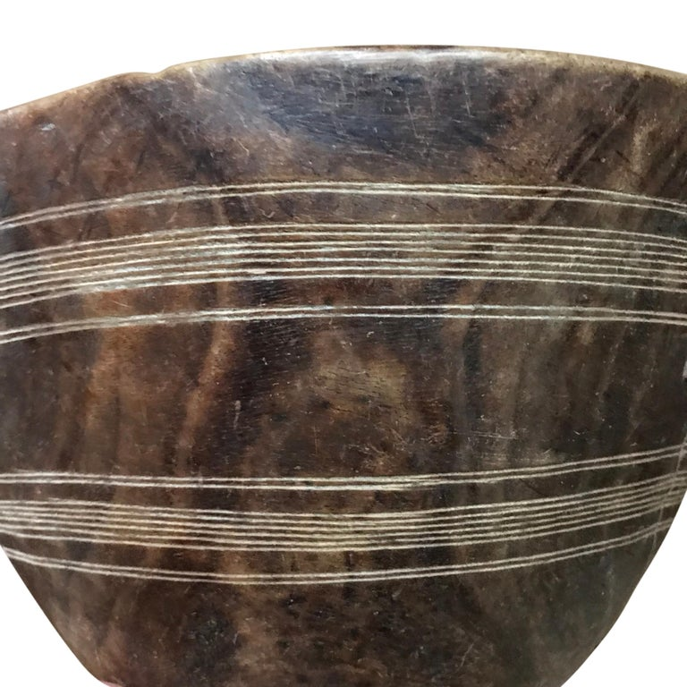 African Early 20th Century Tuareg Bowl For Sale