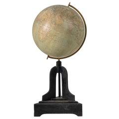 Early 20th Century Unusually Large Antique Swedish Globe