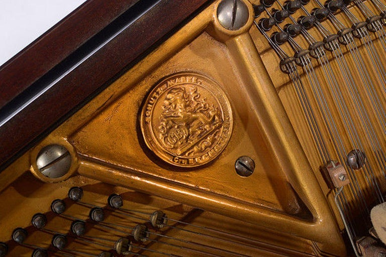 Early 20th Century Upright Piano Manufactured by C. Bechstein For Sale 1