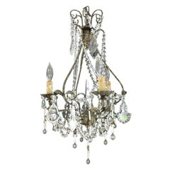 Early 20th Century Venetian Crystal Chandelier