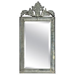 Early 20th Century Venetian Cut Glass Mirror