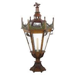 Early 20th Century Venetian Lantern from Coco Chanels Villa La Pausa