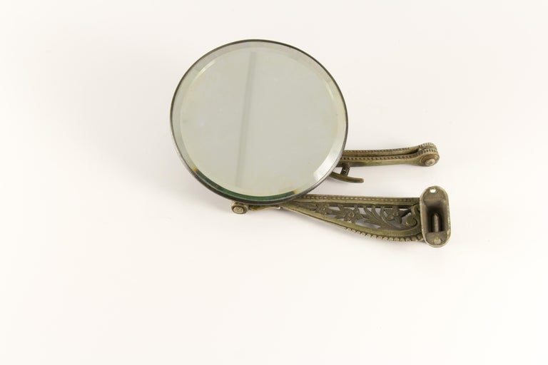 Early 20th Century Victorian Wall Mount Barber S Mirror