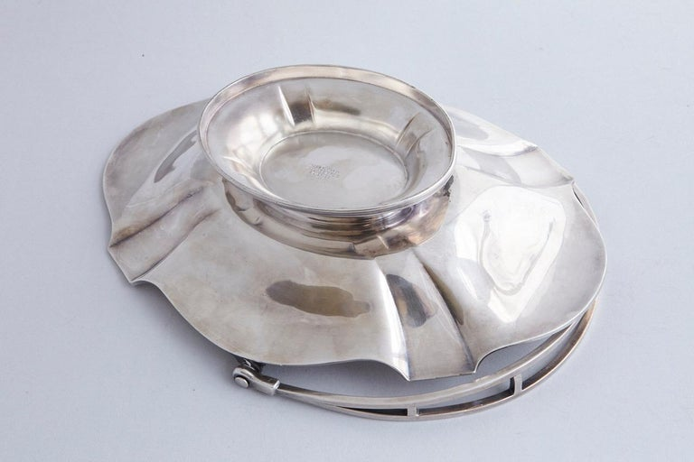 Early 20th Century Wallace Brothers Silver Plated Basket, 1915 For Sale 8
