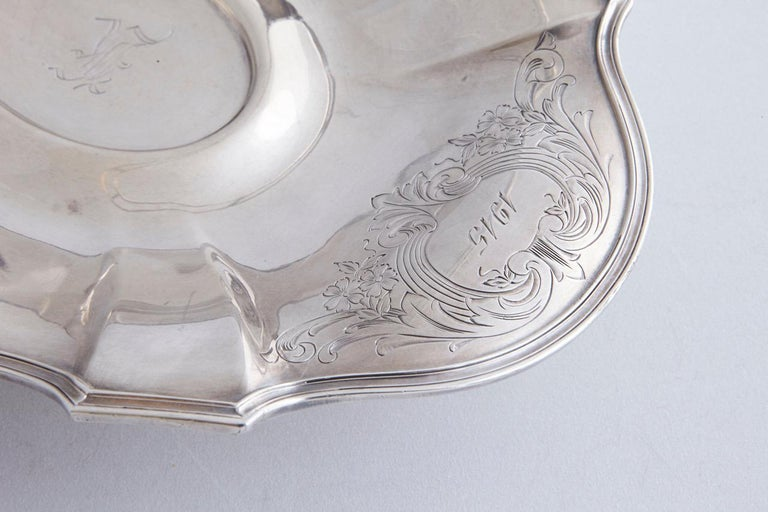 Early 20th Century Wallace Brothers Silver Plated Basket, 1915 In Good Condition For Sale In Weston, CT