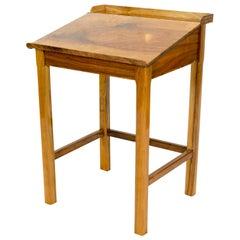 Early 20th Century Walnut Art Deco Writing Desk