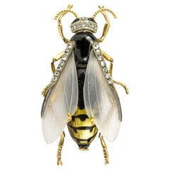 Early 20th Century Wasp Brooch